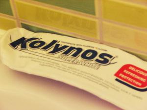 Zahnpasta aus Griechenland für weißere Zähne